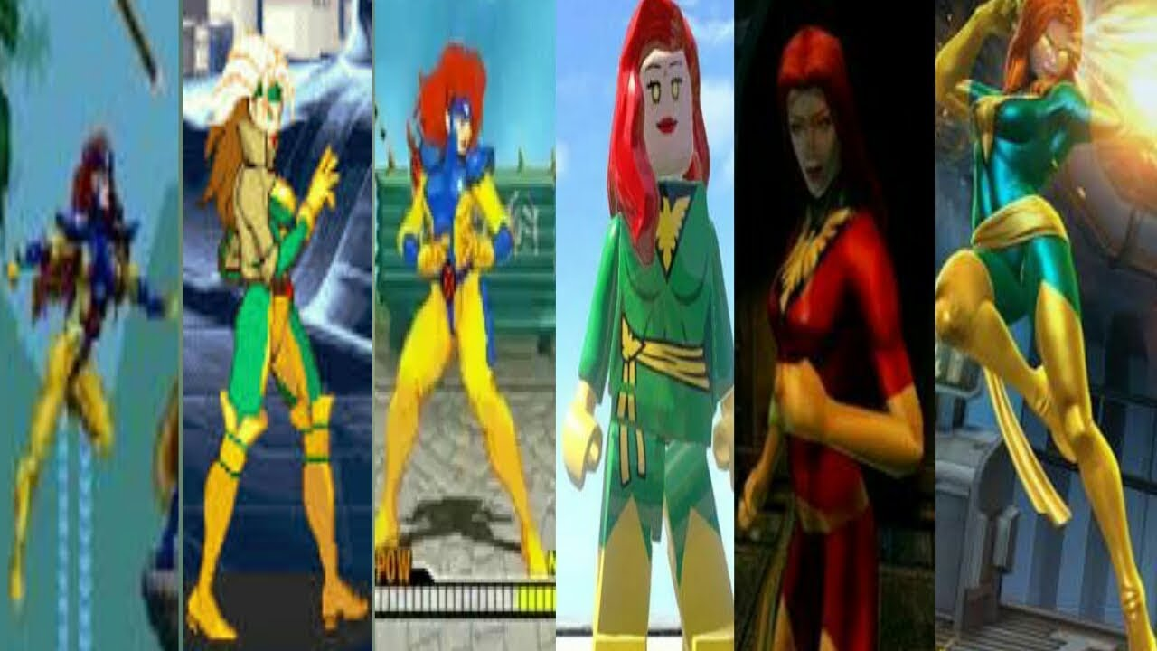Evolution Of Dark Phoenix In  Games (1993 - 2018)
