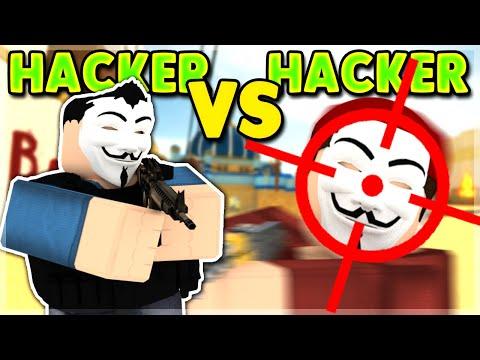 HACKER VS HACKER | AIMBOT VS AIMBOT ROBLOX ARSENAL