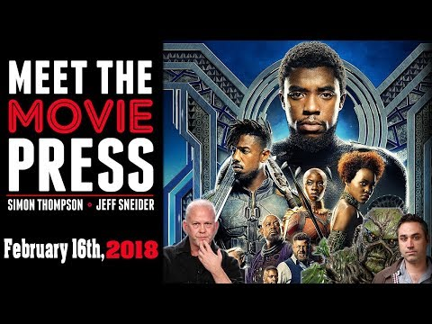 Black Panther Premiere, Ryan Murphy's Deal at Netflix, Swamp Thing & More!  - Meet the Movie Press