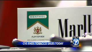 CVS ends tobacco sales at all locations
