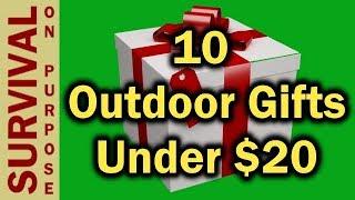10 Outdoor Gift Ideas Under $20 - 2018