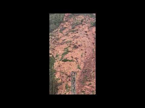VÍDEO Espectacular argayo en Villaviciosa