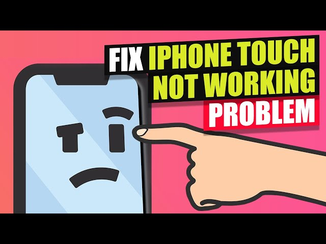 3 Ways to Fix iPhone Touch Screen not Working 2021 | Fix iPhone Touch Screen Unresponsive