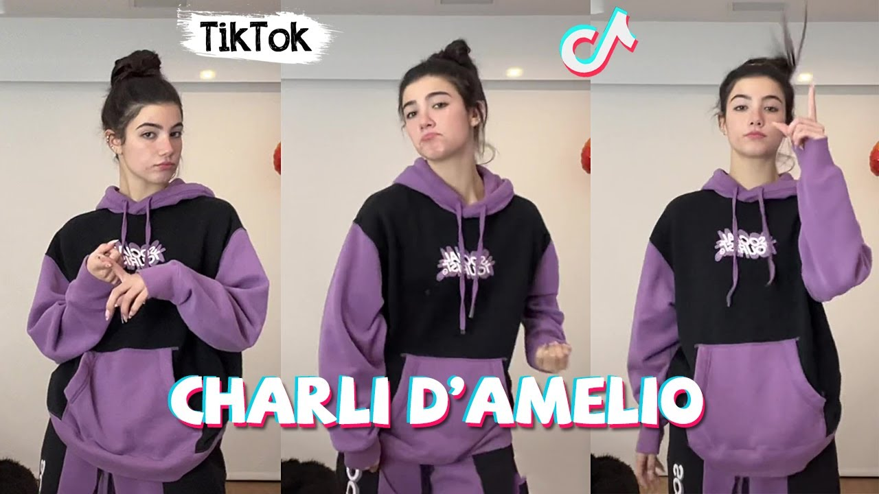 Charli D'amelio New TikTok Dance Compilation 2021