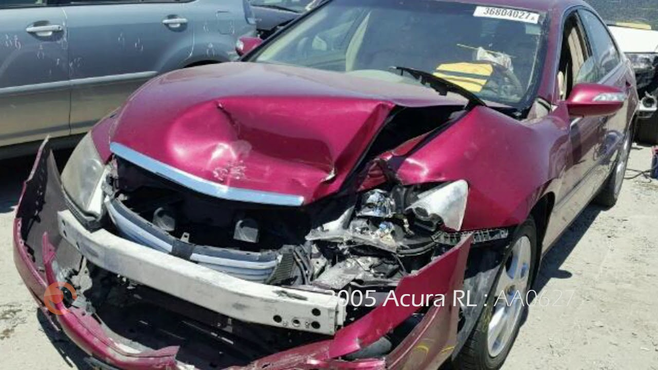 Acura RL For Parts Parting Out AA YouTube - 2005 acura rl parts