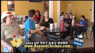 Bosses Chicken Wings Commercial Memphis Tennessee