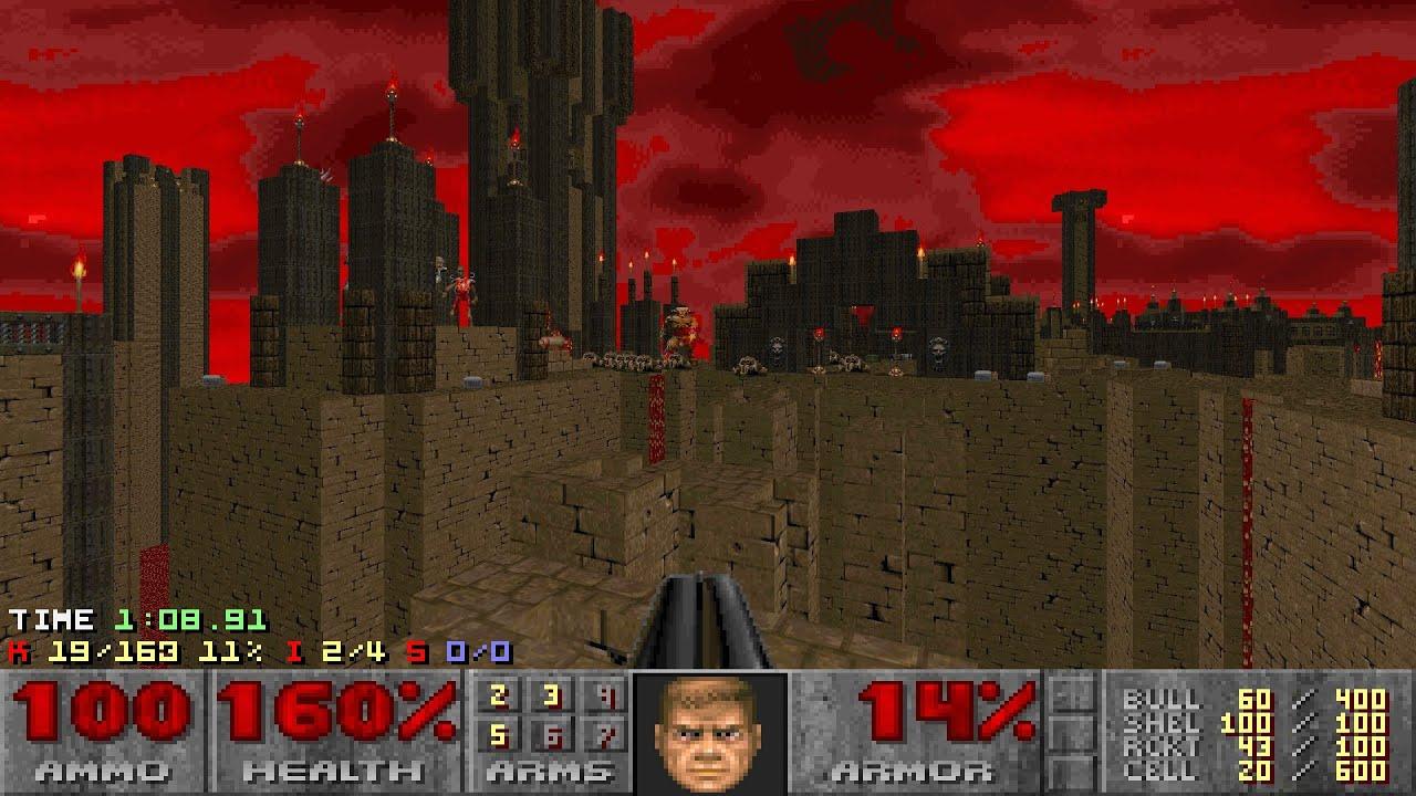 Download Doom II: Sunder - Map 05 (Precarious) UV-Max in 5:39