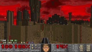 Doom II: Sunder - Map 05 (Precarious) UV-Max in 5:39