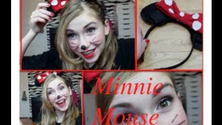 Minnie Mouse Makeup, Hair + DIY Bow Headband Thumbnail