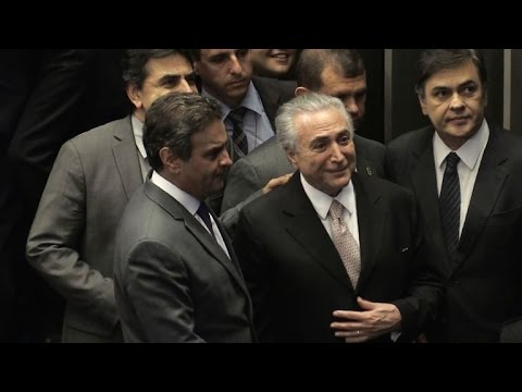 Michel Temer sworn in as Brazil's new president