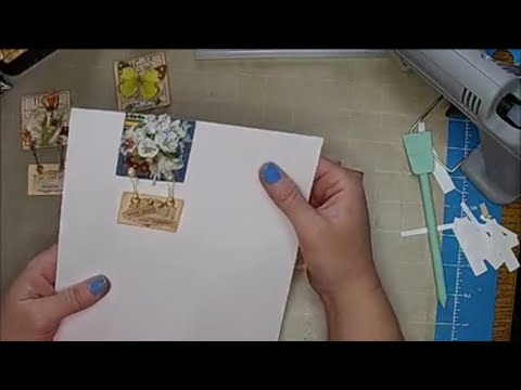 Tutorial: Paperclip Embellishments Part 12 (Hanging Sign Paperclip)