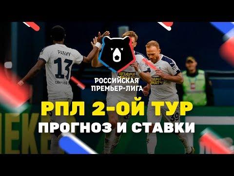 Прогнозы на 2-ой тур РПЛ, Чемпионат России по футболу