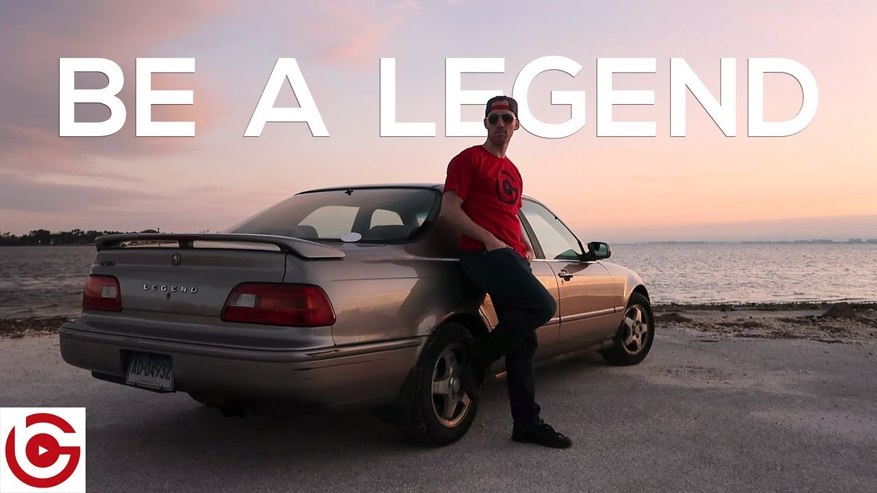 BE A LEGEND BUY MY CAR Acura Legend Used Car Commercial - 1994 acura legend for sale