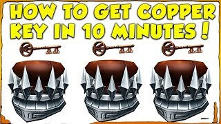 HOW TO GET THE COPPER KEY IN 10 MINUTES! (PROOF) EASIEST/FASTEST WAY! (Roblox Player One Event) thumbnail