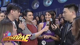Video It's Showtime: Zeus' encounter with a Bb. Pilipinas candidate download MP3, 3GP, MP4, WEBM, AVI, FLV Mei 2018