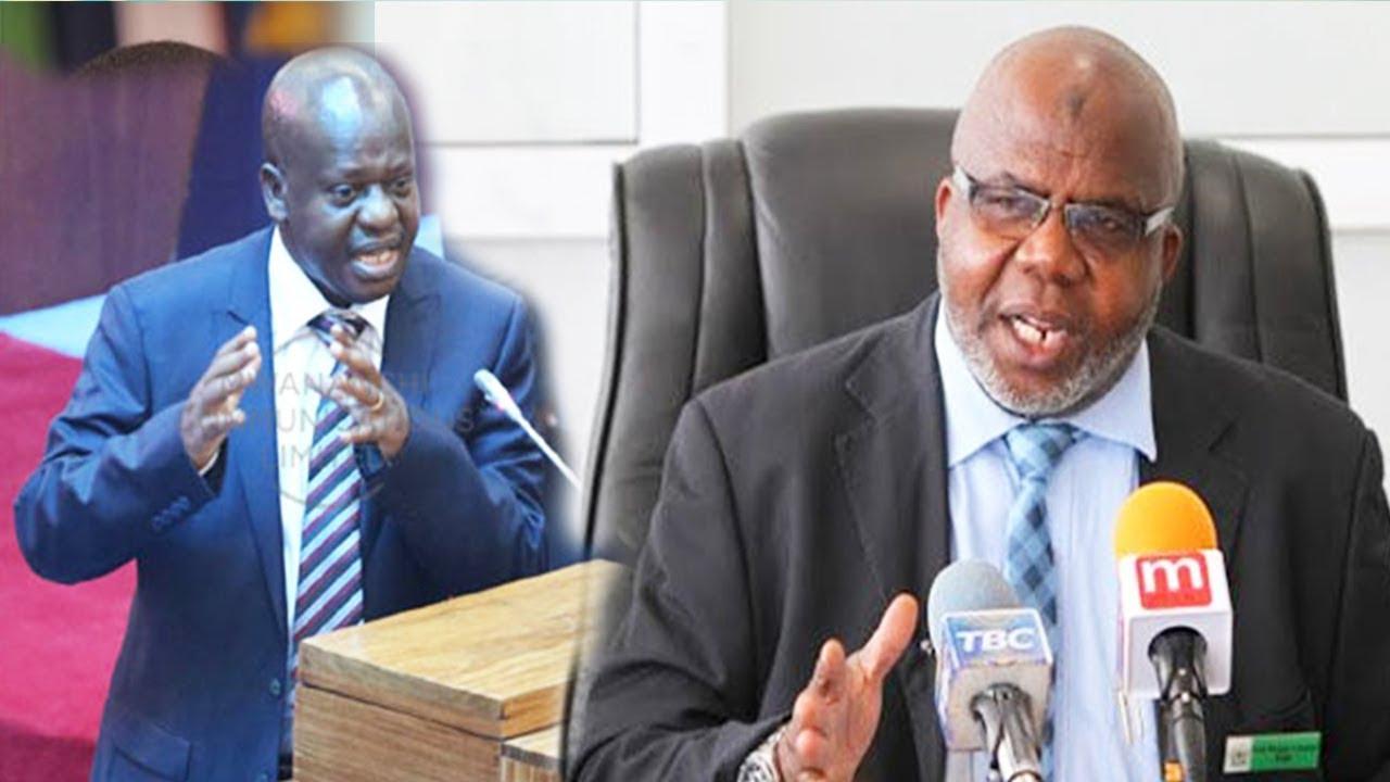 CAG Prof  Mussa Asaad Amjibu vikali  Spika wa Bunge Job Nduga tuhuma za kudhalilisha Bunge.