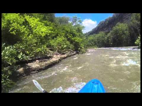 Elkhorn Creek 1180 CFS