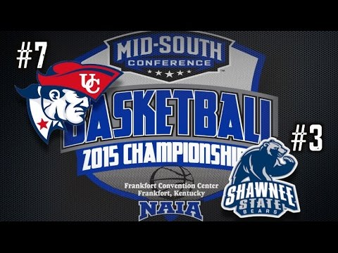 University of the Cumberlands - Women's Basketball vs. Shawnee State University MSC Tourney 2015