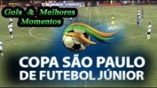 Coritiba x Vasco - Gols & Melhores Momentos - Copa SP de Futebol Júnior 2019