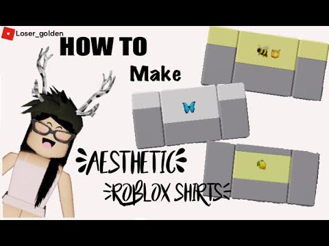 How To Make Your Own Shirts In Roblox 2020 Easy Aesthetic