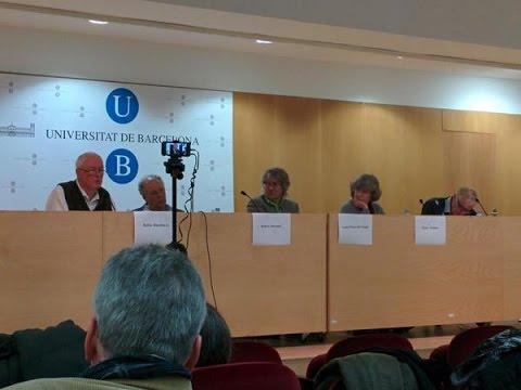 Presentación New Left Review en español (Barcelona): Carlos Prieto , Robin Blackburn 16-12-2014