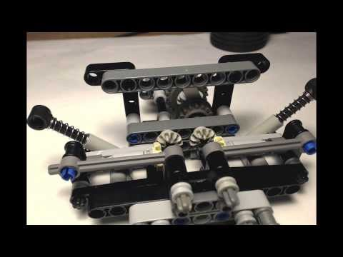 Lego Technic Rear Independent Suspension Instructions Video
