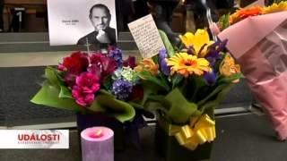 Steve Jobs   úmrtí ve zprávách ČT1