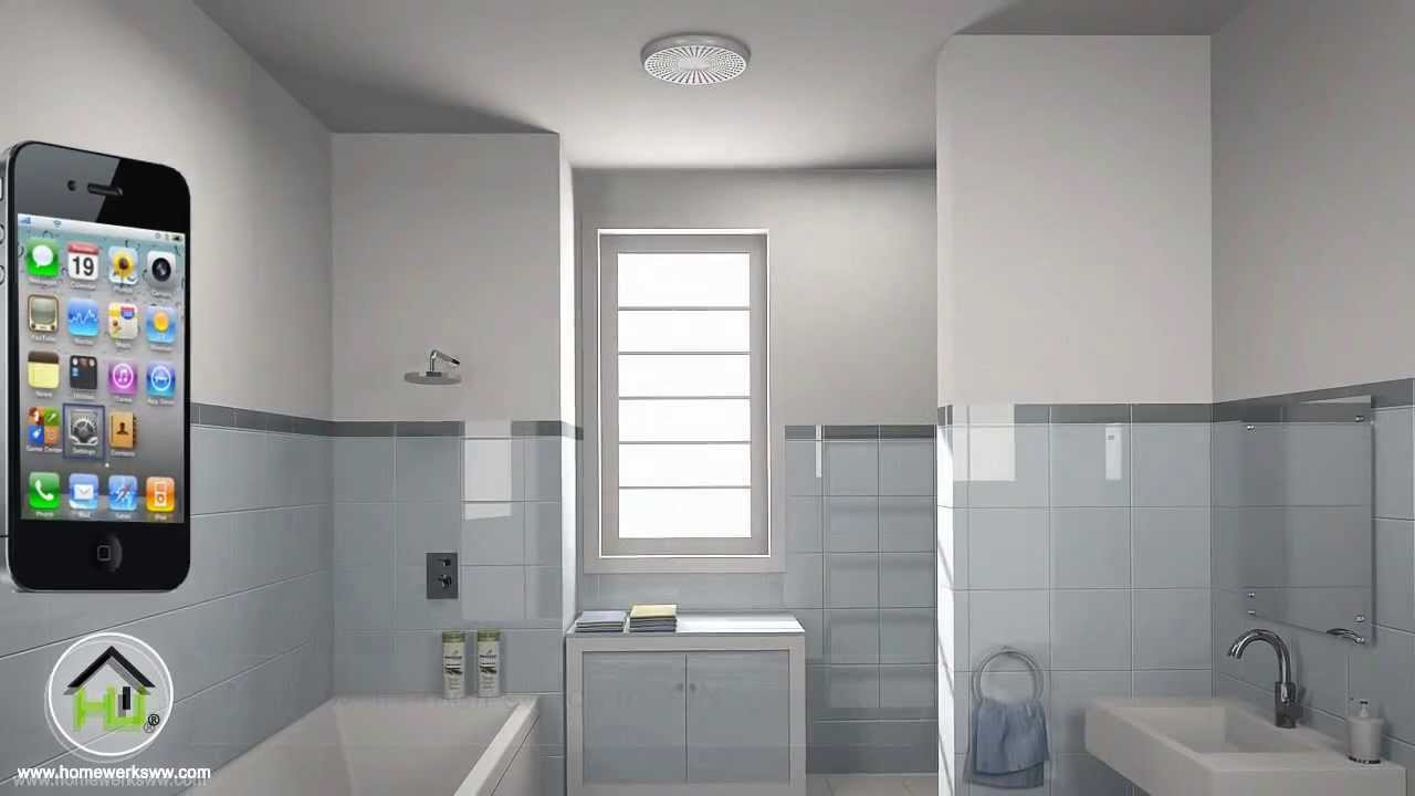 bluetooth bath fan installation video - Bluetooth Bathroom Fan
