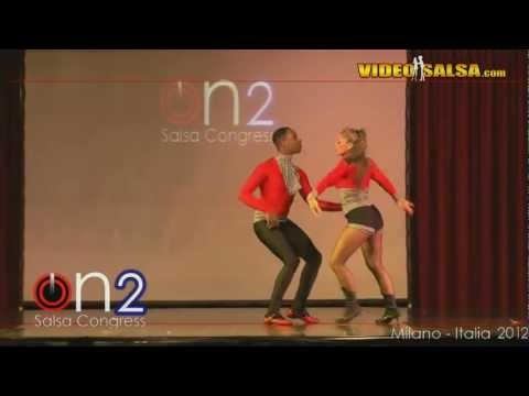 World Premiere Mitchell & Monica @ Milan on2 Salsa Congress 2012