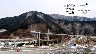 Driving on Seoul–Yangyang Expressway: The road that can faster access Pyeongchang Olympic Games