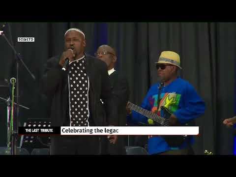 Ringo Madlingozi performs Hugh Masekela's song- Ashiko
