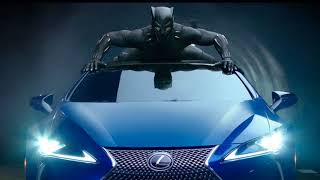Black Panther (2017) Car chase music - Opps