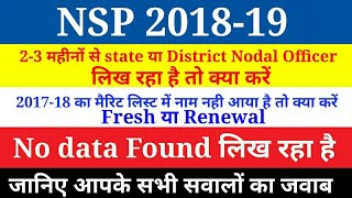 State/District Nodal Officer and Merit List 2018-19 | national scho...