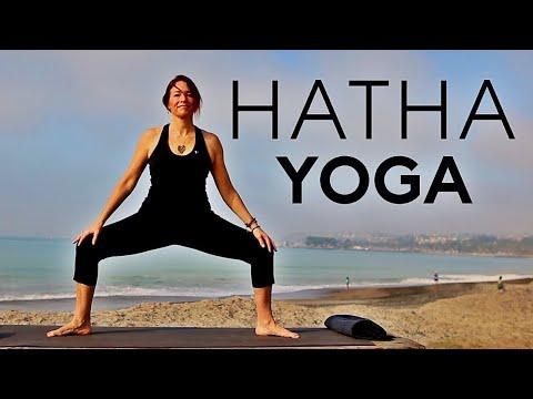 1 hour Hatha Yoga (full class) | Fightmaster Yoga Videos