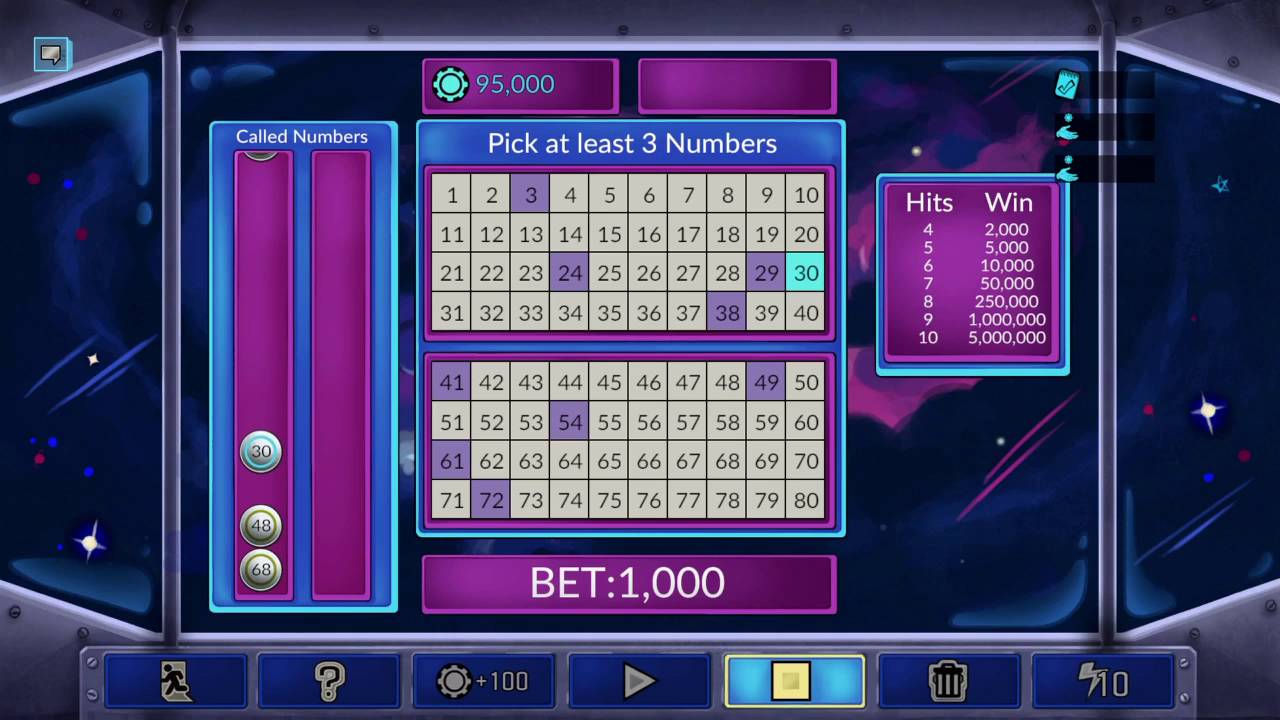 four kings casino and slots keno numbers