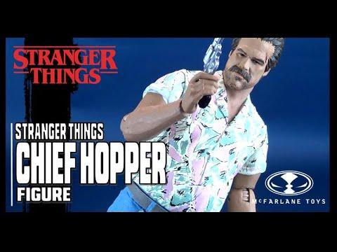McFarlane Toys Stranger Things (Season 3) Chief Hopper Figure Review