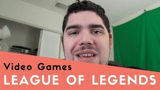 League of Legends thumbnail picture.