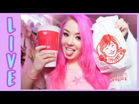 LIVE Wendy's Eating Show!