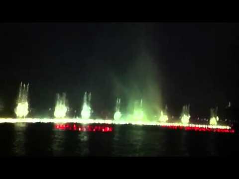 Xihu ( Hangzhou ). Water show