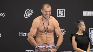 WE HAVE A FIGHT! SERGEY KOVALEV MAKES WEIGHT ON SECOND ATTEMPT FOR CANELO ALVAREZ FIGHT
