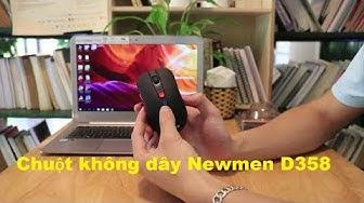 Review Chuột không dây Newmen D358 . Kết nối Bluetooth và Wireless [GameZone.com.vn]