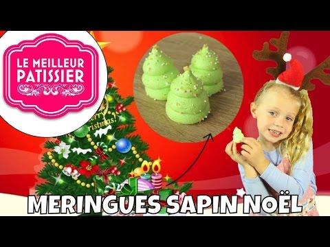 ❅•-recette-de-noel-meringue-sapin- -facile-et-rapide-•❅