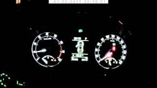 Skoda Octavia II 1.8TSI 7DSG 2010 прогрев в морозы