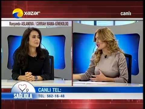 """Baku Medical Plaza Uzman Dr. Rehshende Aslanova Sağlıqla Verilişində """"Təkrar Düşüklər"""""""