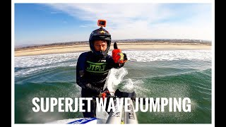 WAVE JUMPING THE NEW 2021 SUPERJET !!!!!!!!!!!