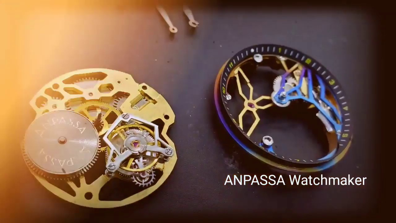 ANPASSA Watchmaking Craftsmanship