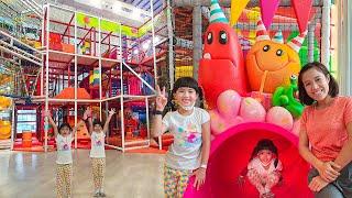 หนูยิ้มหนูแย้ม สนามเด็กเล่นในร่มใหญ่ที่สุดในโลก MEGA HarborLand Central WestGate