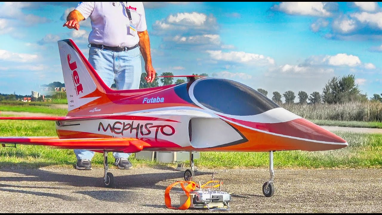INCREDIBLE AEROBATICS!! CARF MEPHISTO V2 RC TURBINE JET DEMO FLIGHT