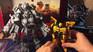 Transformers - Studio Series Blackout Review (Обзор с Даней!)
