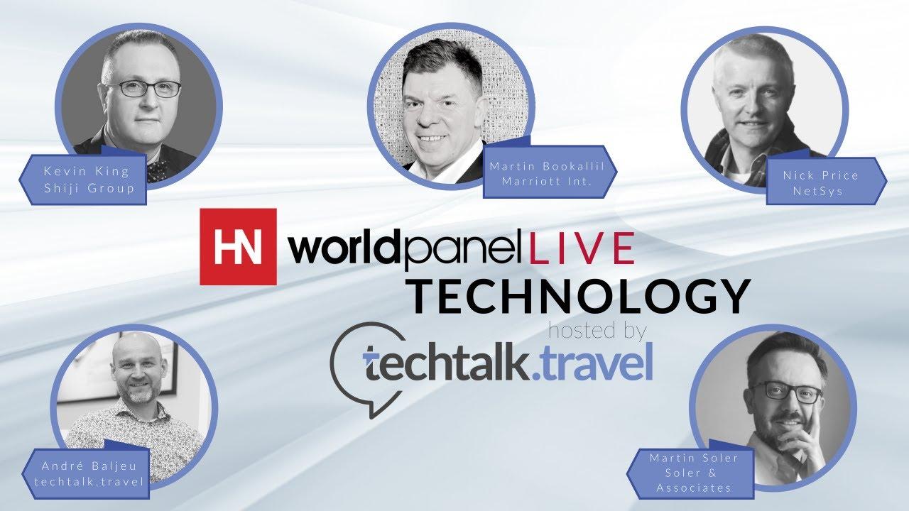 Hotel Tech Evolution l HN World panel Live hosted by techtalk.travel
